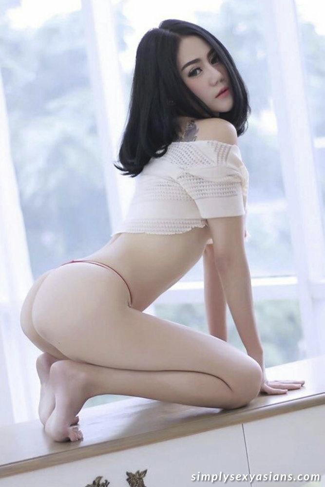 Sexy Asian Girl Teasing